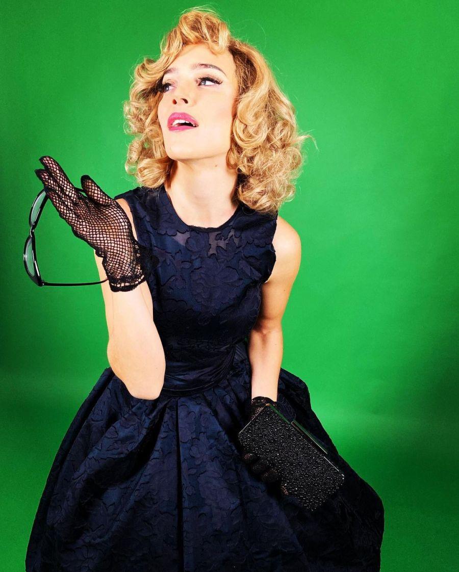 Como Marilyn Monroe: Luisana Lopilato sorprendió al probarse diferentes looks de los '50