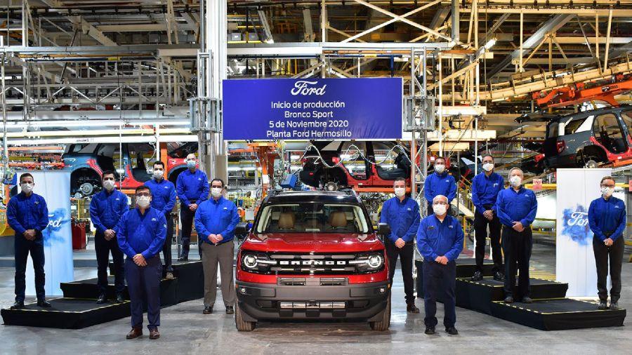 Inicio de producción Ford Bronco Sport