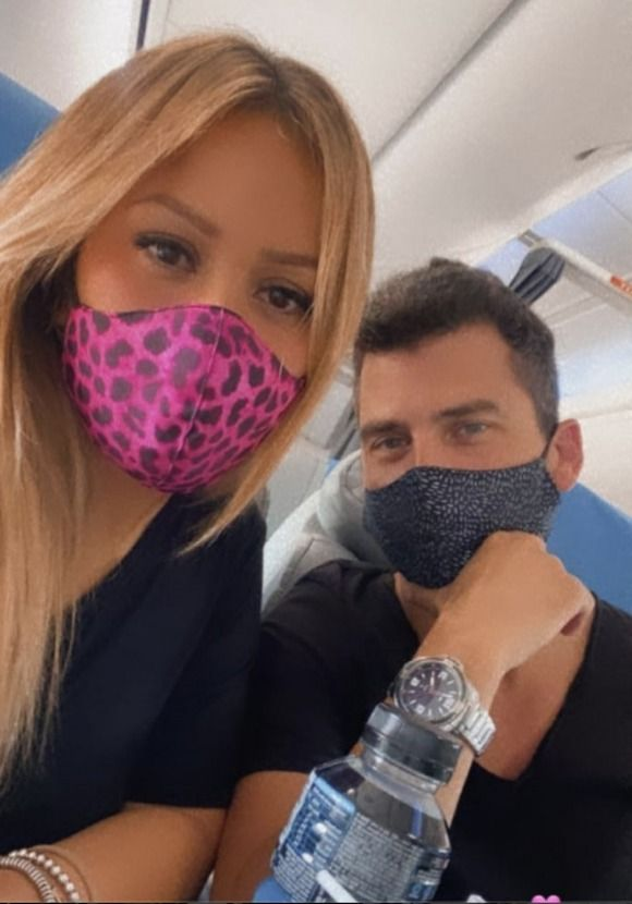 Las románticas vacaciones de Karina La Princesita y su novio en el Sur