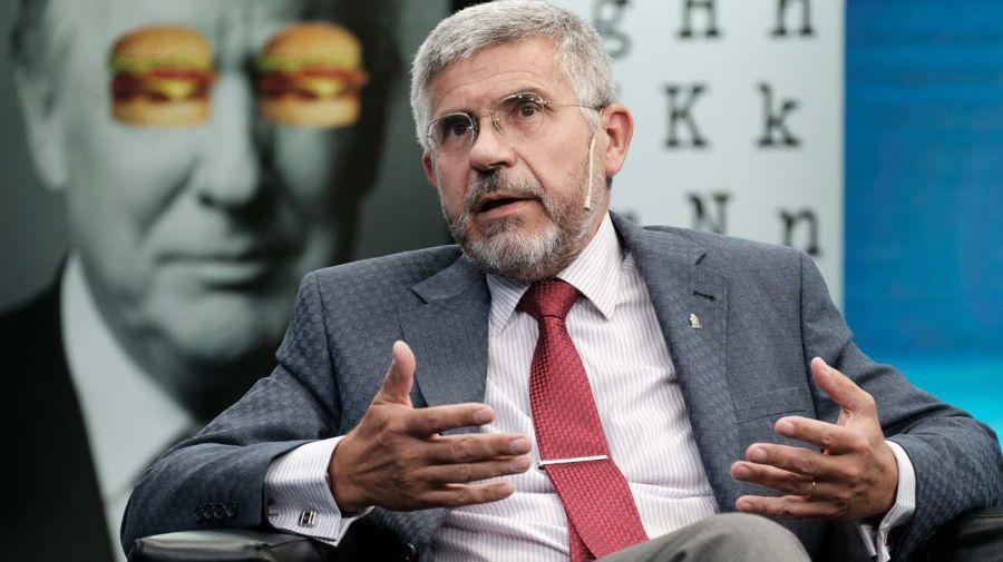 Armando Segundo Andruet (h.), en la entrevista con Jorge Fontevecchia.