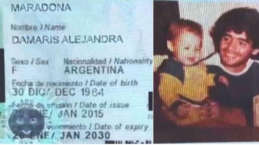 Conocé a Damaris Alejandra, la supuesta nueva hija de Diego Maradona