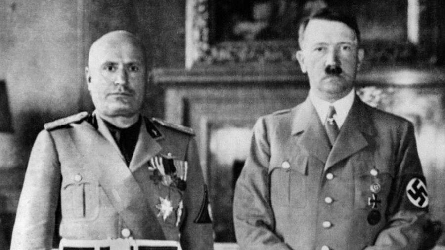 La historia en Víctor Manuel III y Benito Mussolini.