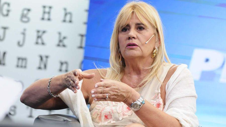 La ministra de Justicia Marcela Losardo, en la entrevista con Jorge Fontevecchia.