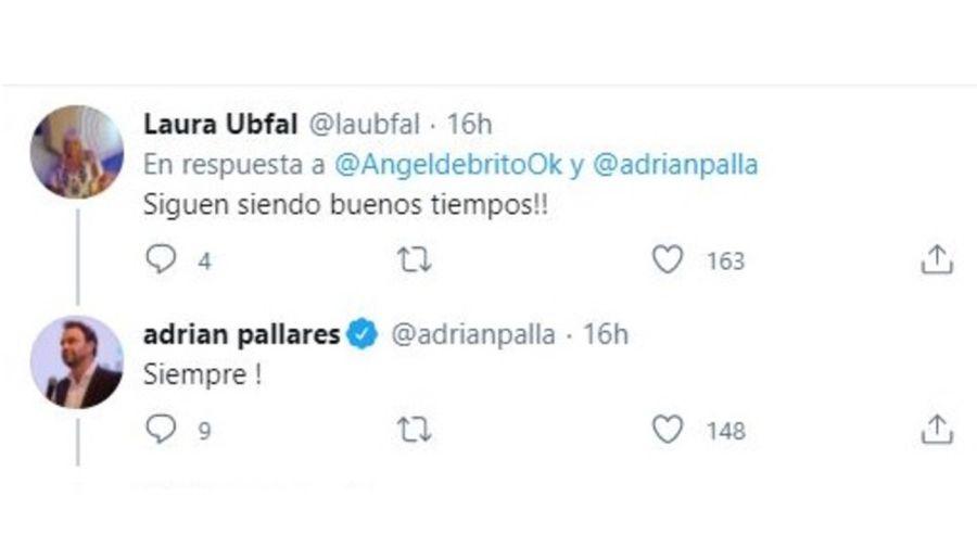 Laura Ubfal y Adrian Pallares