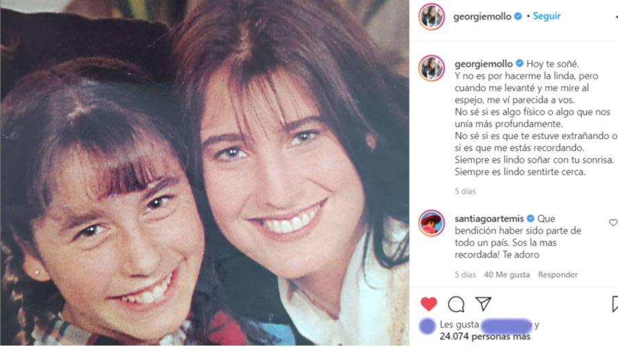Romina Yan y Georgina Mollo