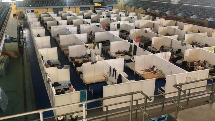 centros de aislamiento de Formosa g_20210125