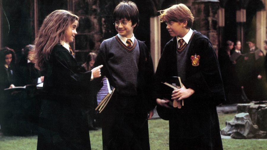 Hermione, Harry y Ron