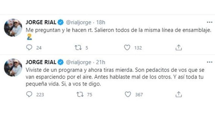 Jorge Rial furioso