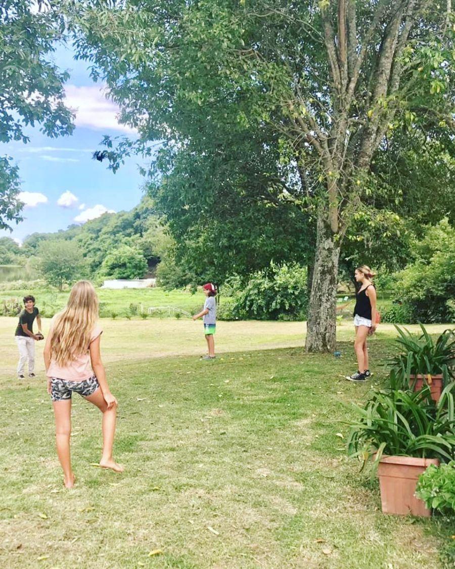 Las paradisíacas vacaciones de Nicole Neumann en Salta