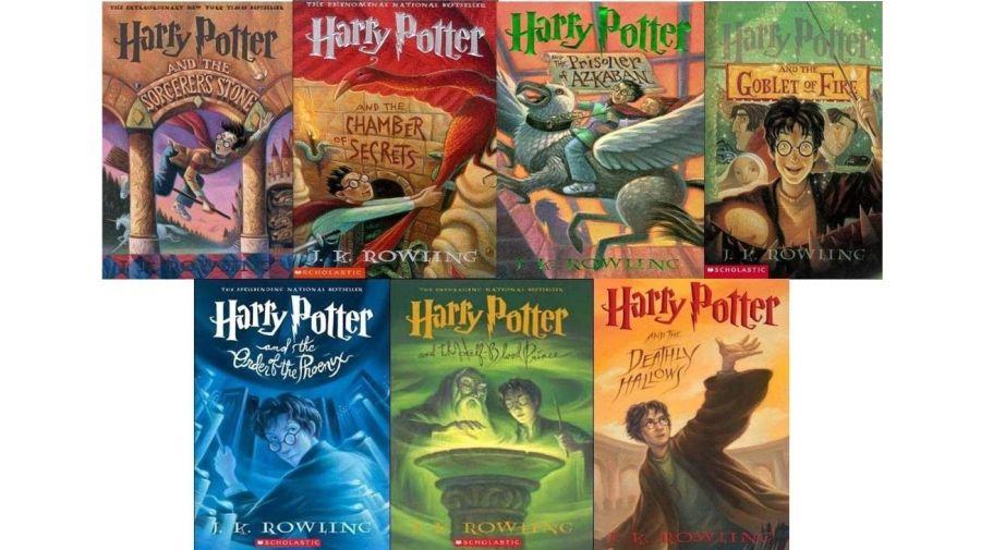 Todos los libros Harry Potter