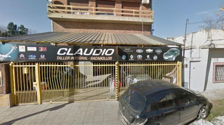 2021 Claudio Taller Mecanico Torturas
