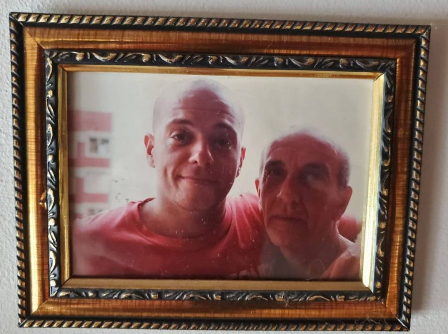 El profundo dolor de Campi por la muerte de su padre