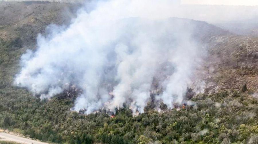 Incendio forestal en Río Negro 20210126