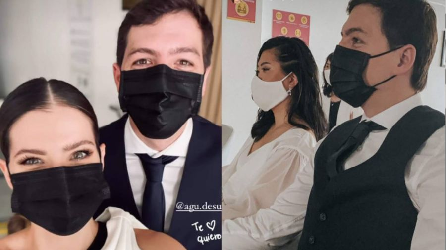 Se casó el hermano de la China Suárez: las mejores fotos de la ceremonia íntima