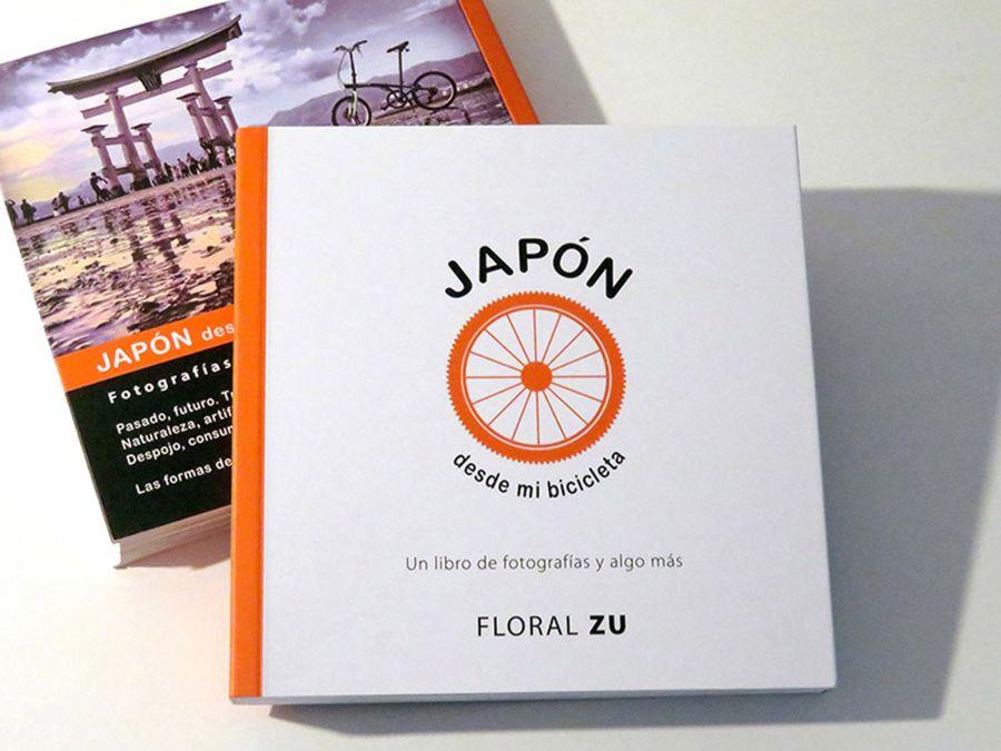 Japón desde mi bicicleta fue autogestionado por la autora