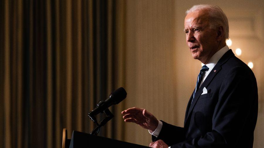 Joe Biden, presidente de los Estados Unidos.