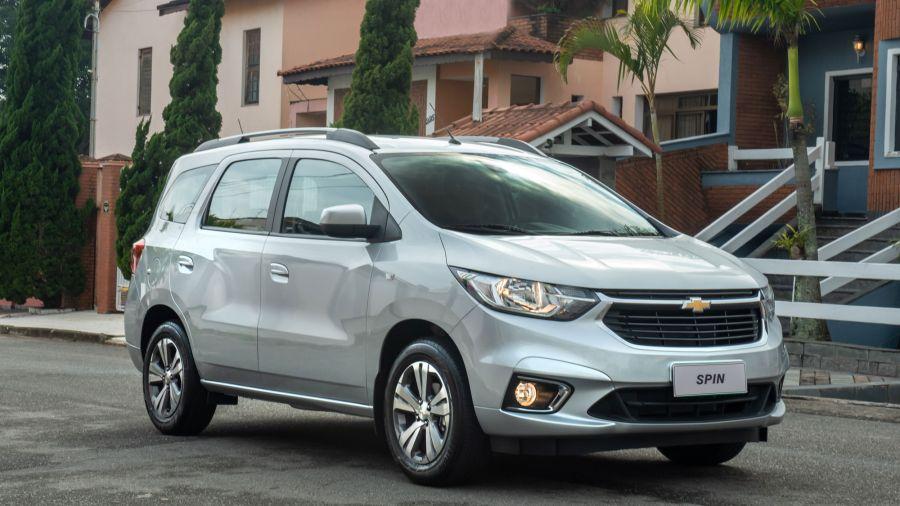 Nuevo Chevrolet Spin 2021