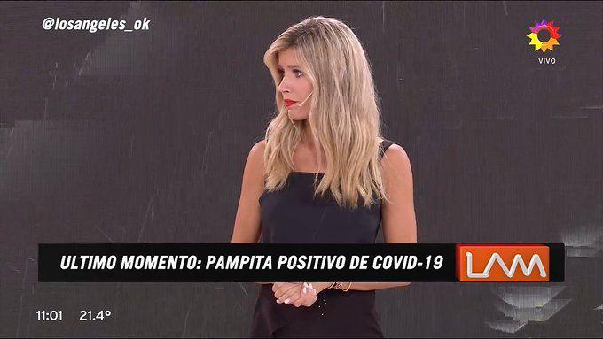 Pampita dio positivo para Covid-19
