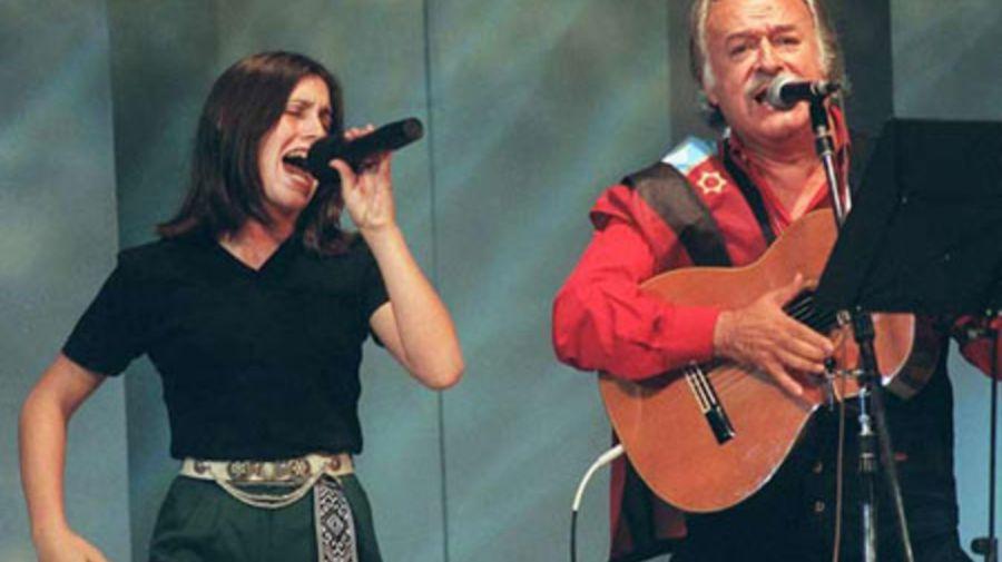 Soledad Pastorutti y Cesar Isella