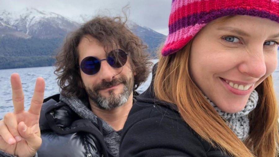 Agustina Kampfer y Carlos Gianella