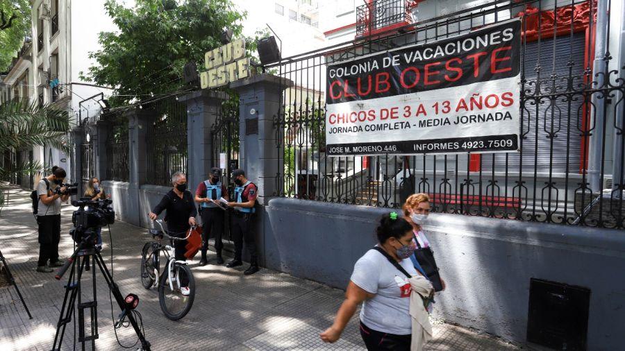 Colonia del Club Oeste, en Caballito.