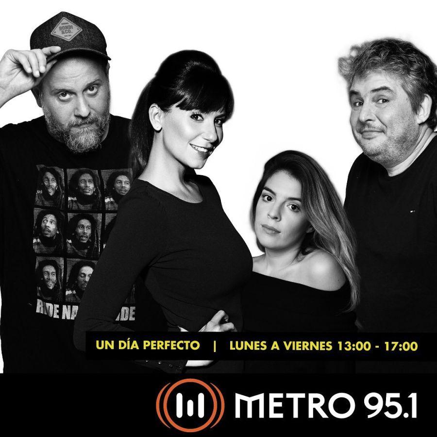 Dalma Maradona, Jey Mammón y Leo Montero a radio Metro