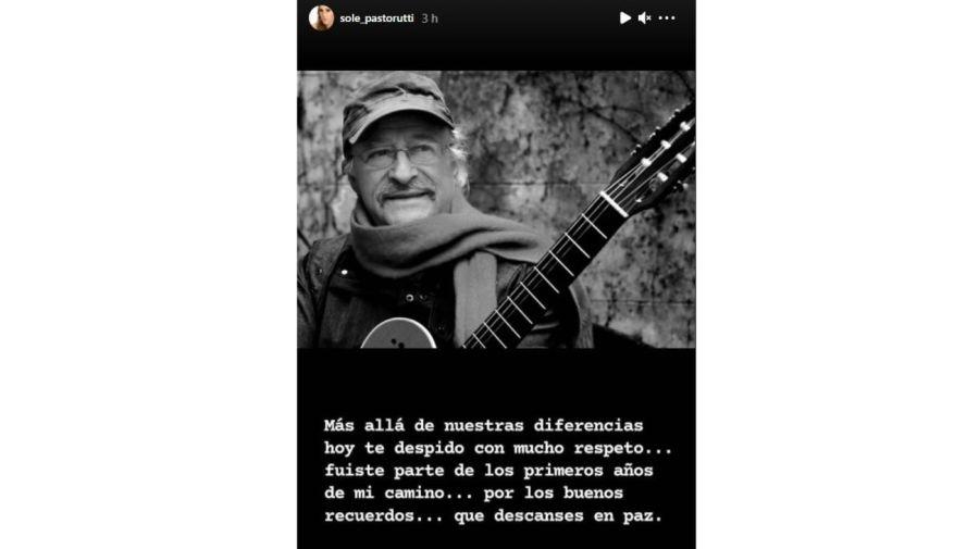 mensaje La Sole a Cesar Isella