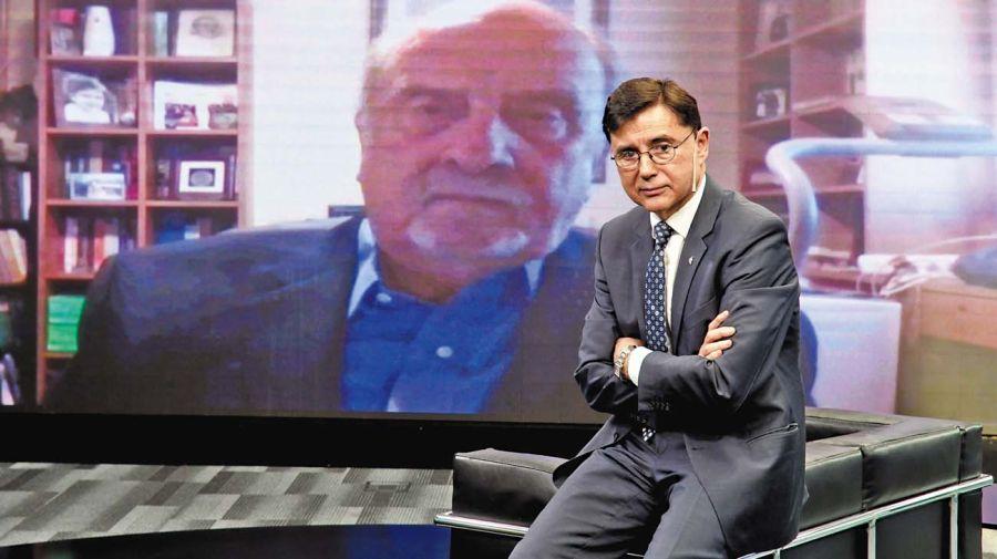 Ricardo Recondo, en la entrevista con Jorge Fontevecchia.