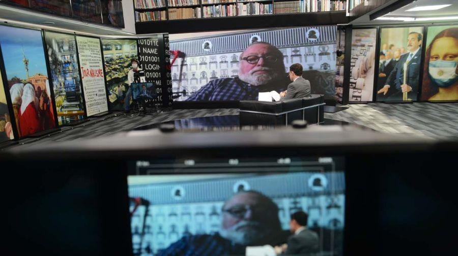 Fernando Savater, en la entrevista con Jorge Fontevecchia.