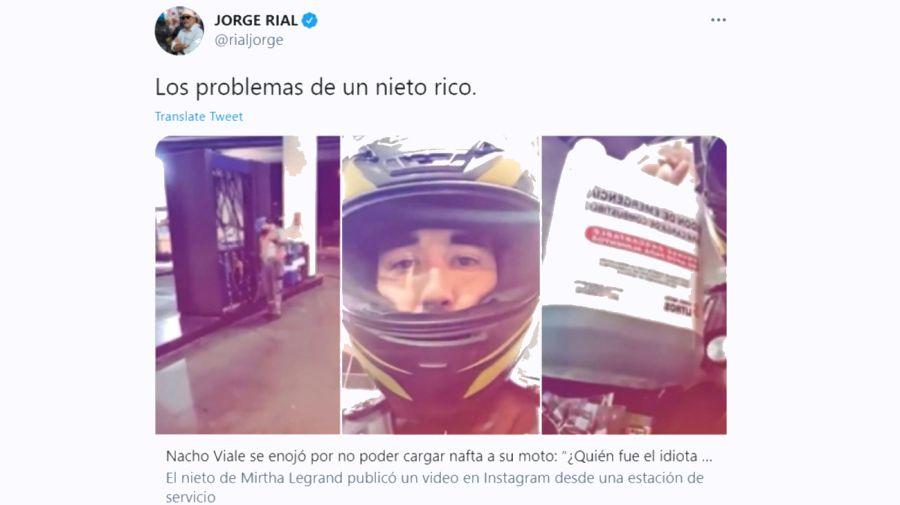 Jorge Rial 3001