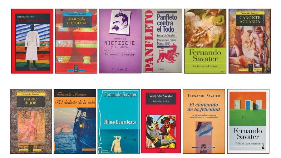 Libros de Fernando Savater.