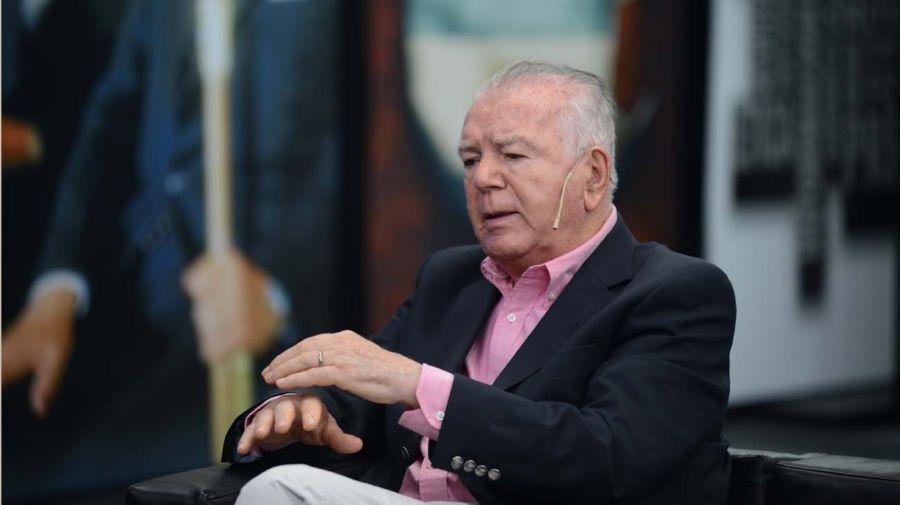 Orlando Ferreres, en la entrevista con Jorge Fontevecchia.