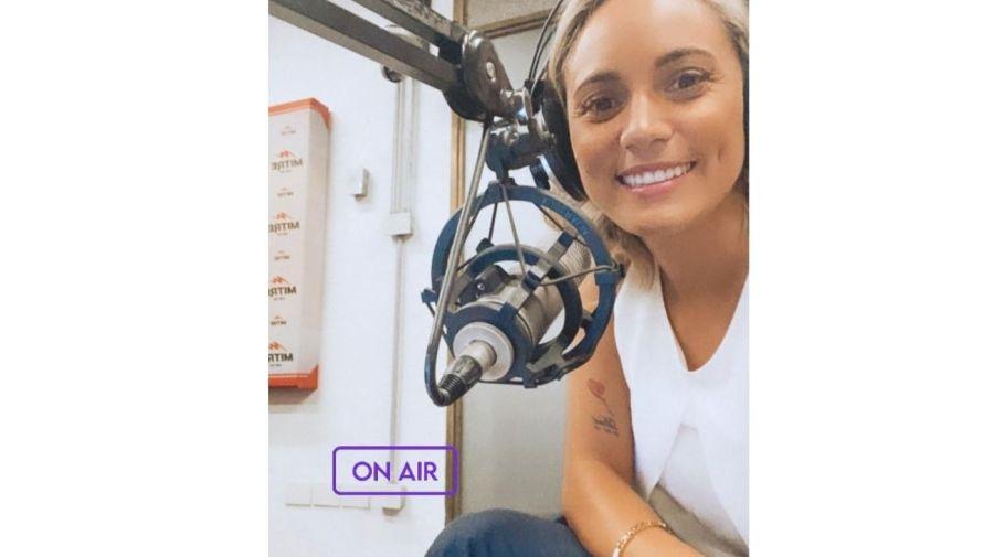 Rocio Oliva en Radio Mitre