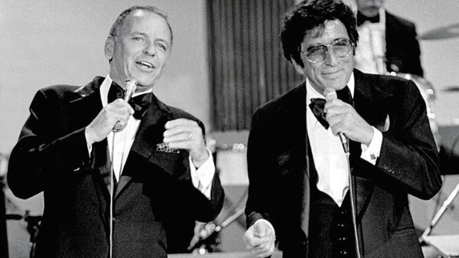 Frank Sinatra y Tony Bennett