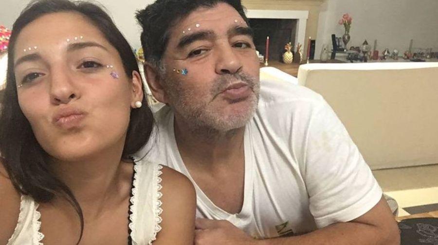 Jana Maradona y Diego Maradona 0102