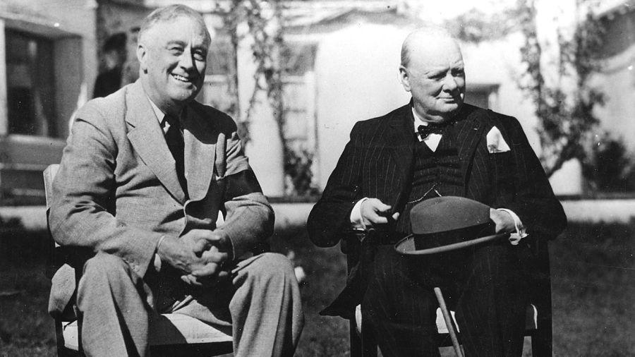 La pintura que Churchill regaló a Roosevelt va a subasta.