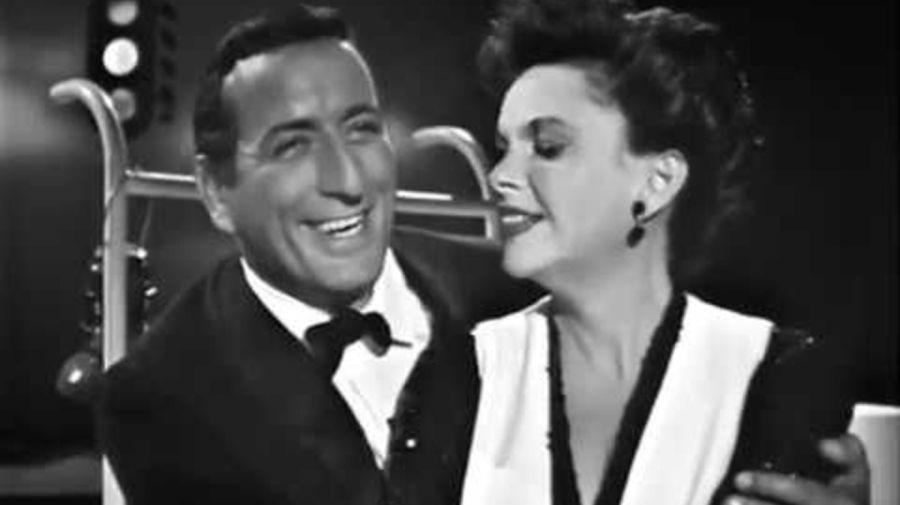 Tony Bennett y Judy Garland