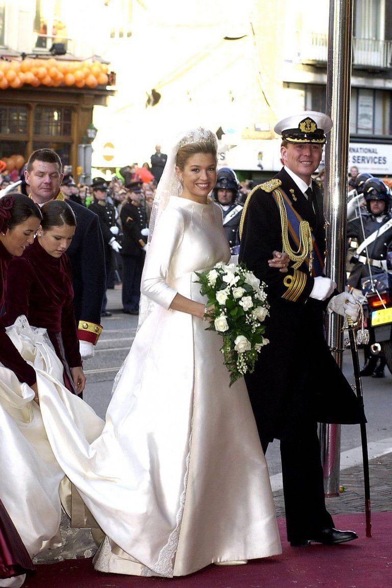 Aniversario 19: Todos los detalles del vestido de novia de la Reina Máxima