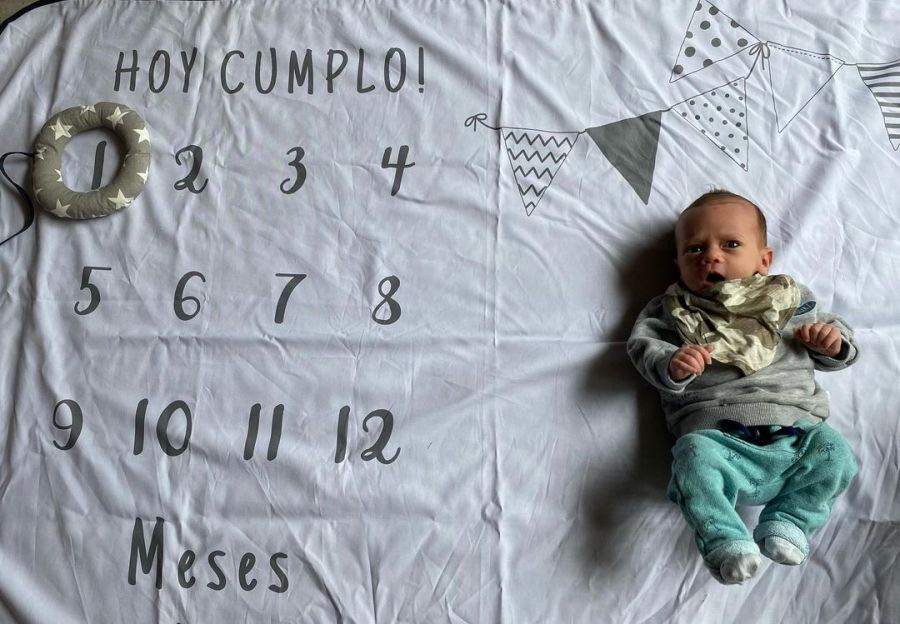El primer mes de Baltazar, el hijo de Mica Vázquez y Gero Klein
