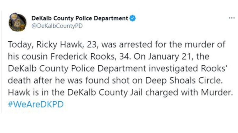 Arresto Silento por homicidio