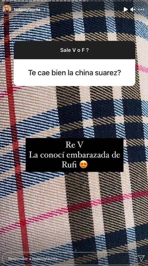 ¡Hasta como la conoció! Laurita Fernández contó cómo es su relación con La China Suárez