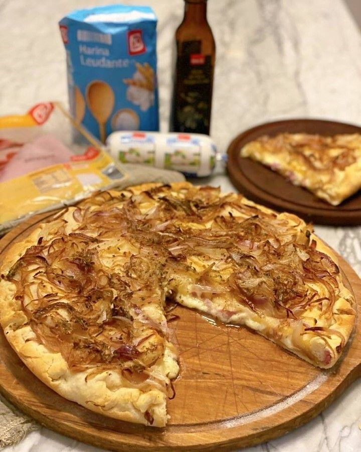 Jimena Monteverde te enseña a preparar pizza fugazzeta rellena