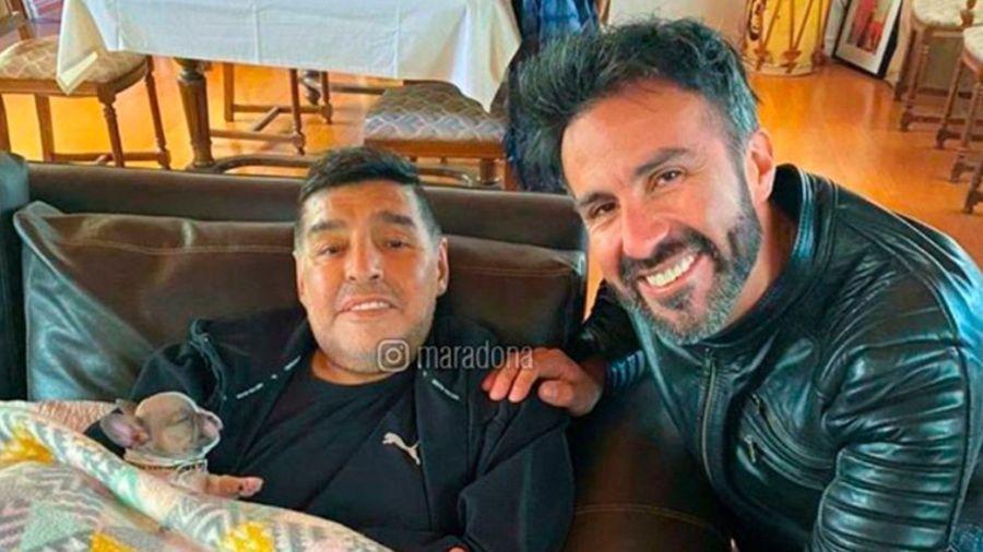 Luque y Maradona