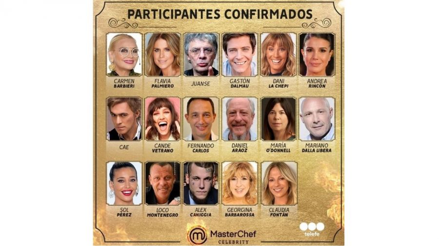 Participantes MasterChef Celebrity 2