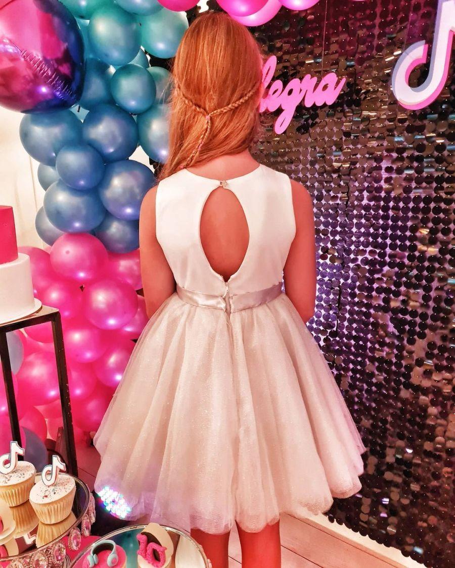 Todos los detalles del cumpleaños de Allegra Cubero