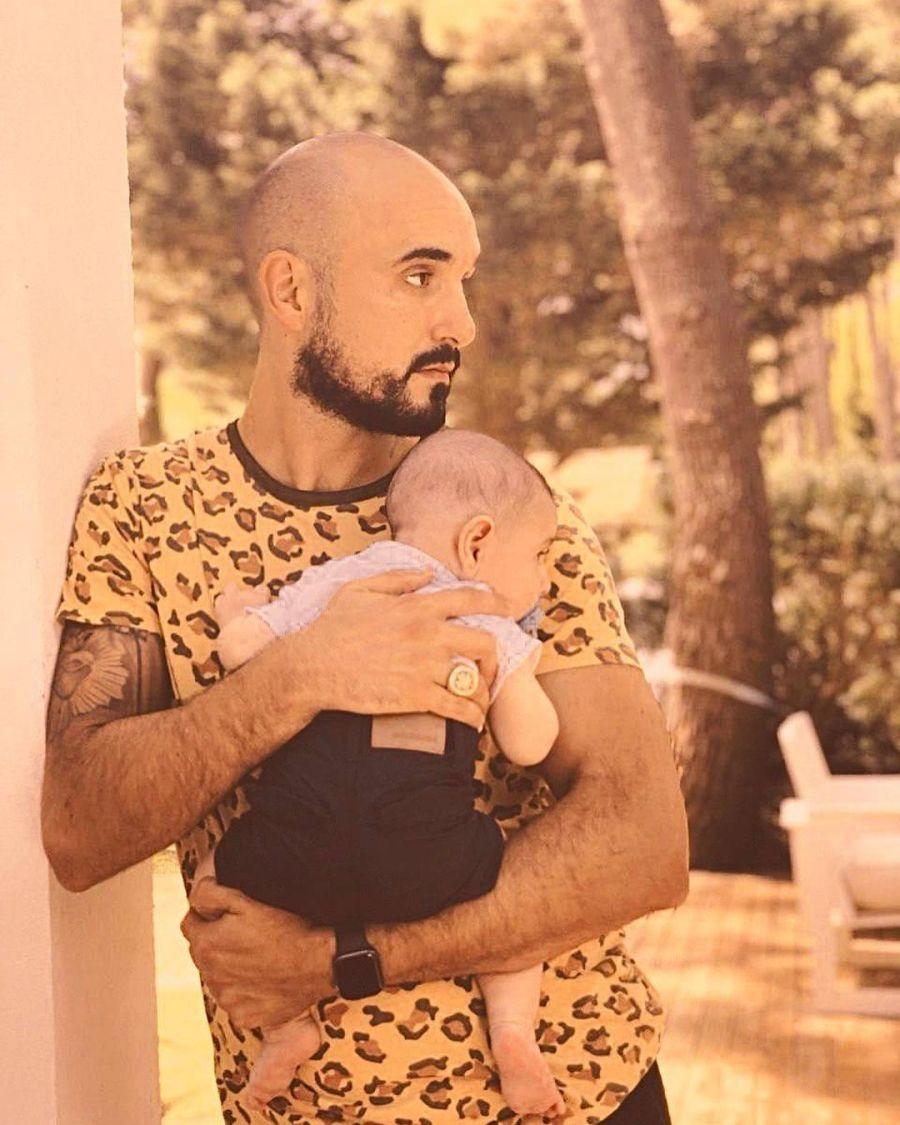 Abel Pintos y Agustín: las fotos más emotivas