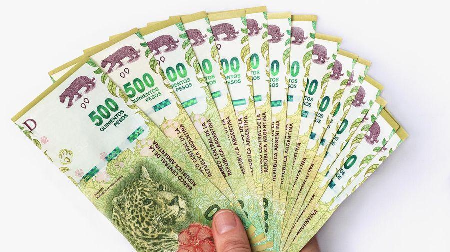 Pesos argentinos 20210204