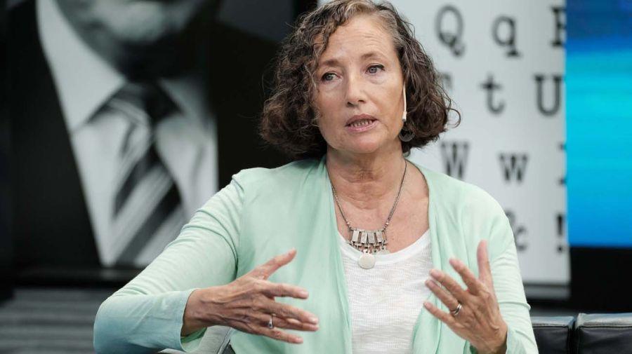 Florencia Luna, en la entrevista con Jorge Fontevecchia.