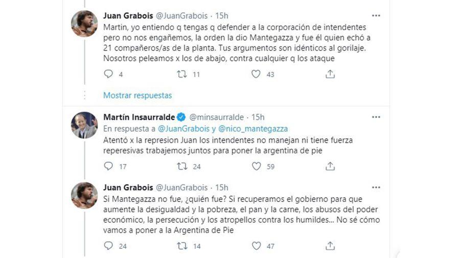 Juan Grabois y Martín Insaurralde 20210205