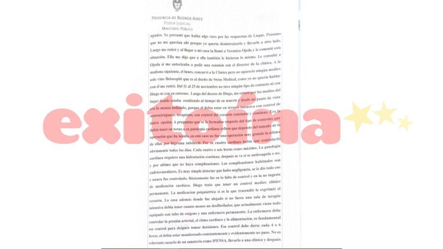 declaración alfredo cahe diego maradona 0206